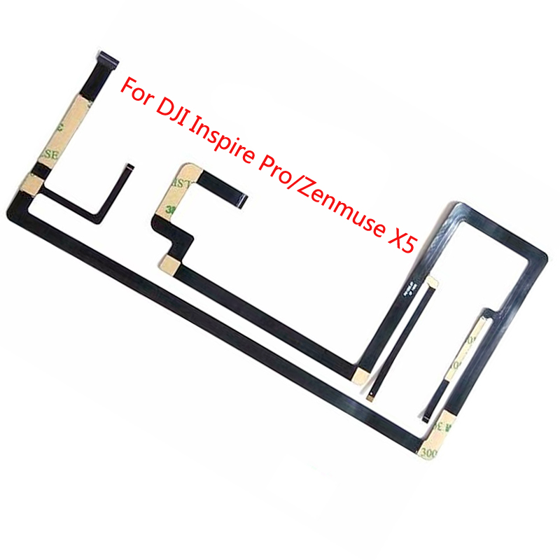 Flex Cable For DJI Inspire 1 Zenmuse X3 Flexible Gimbal Camera Ribbon Flat Cable Replacement Fit For DJI Inspire Pro Zenmuse X5Flex Cable For DJI Inspire 1 Zenmuse X3 Flexible Gimbal Camera Ribbon Flat Cable Replacement Fit For DJI Inspire Pro Zenmuse X5