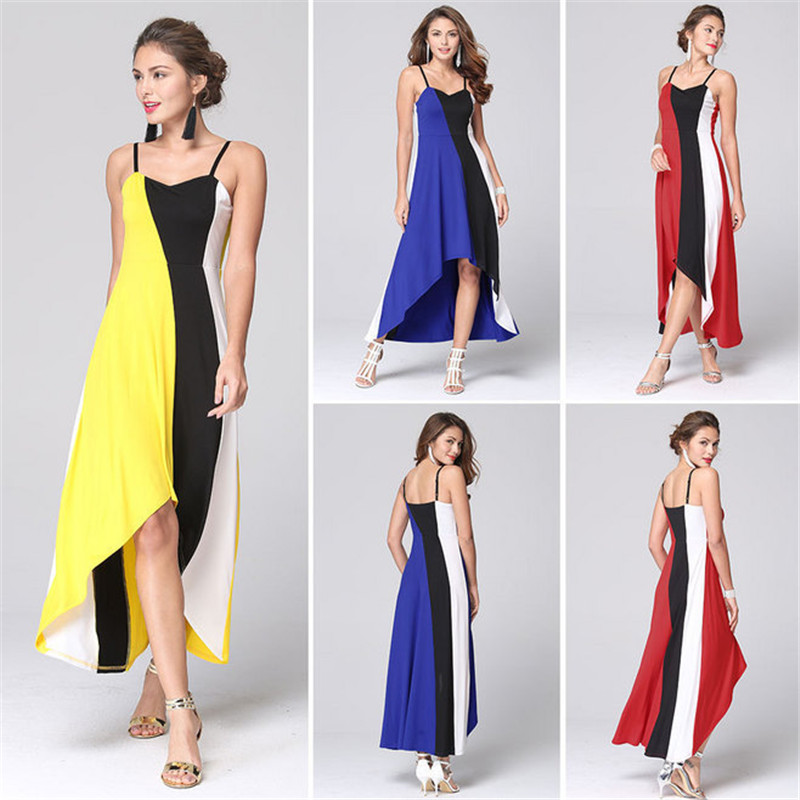 Fashion Long Dress Elegant Formal Sexy Women Dresses Evening Party