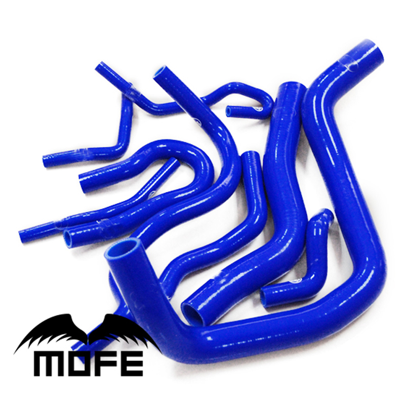 Customized / Original Logo Radiator Silicone Hose For Honda Civic EK3 B16 B16A B16B Blue jika lyra