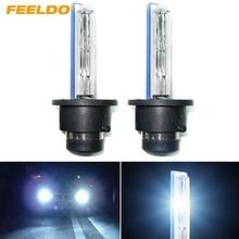 FEELDO 2Pcs 35W D2S/D2R/D2C Xenon HID HeadLamp Foglights HID Bulbs 4300K-12000K