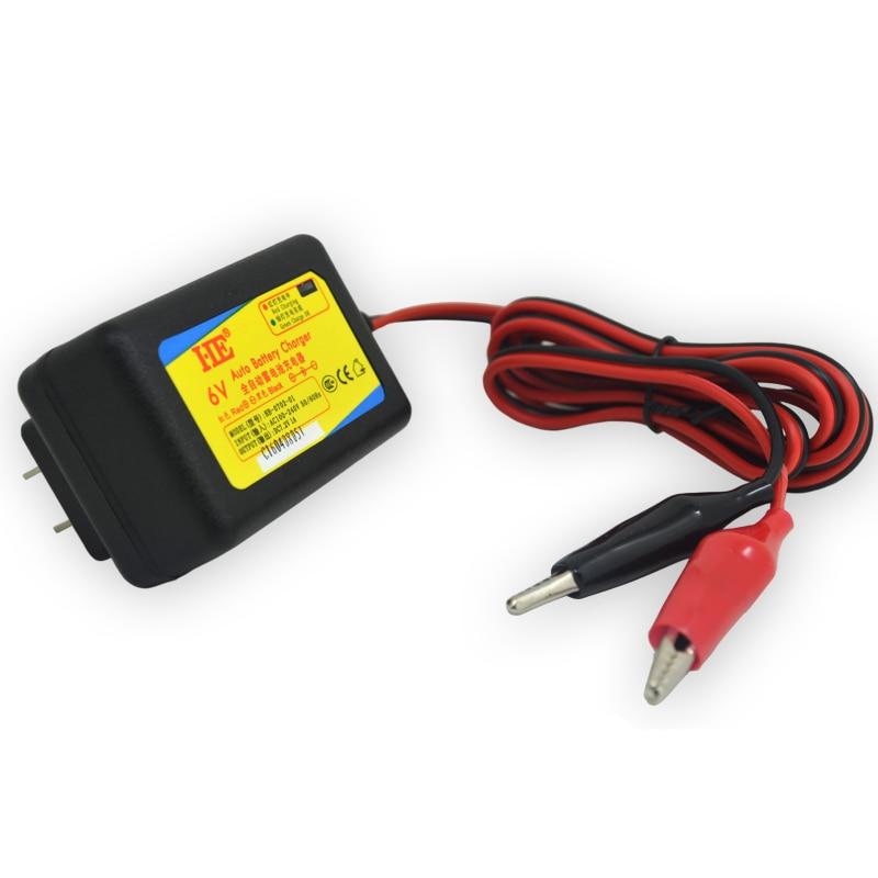 Dc7.2v 1A 6 V juguete inteligente cargador de coche recargable de plomo ácido cargador de batería 6 V para batería 6 V 4ah 4.5ah 7ah 10ah 12ah UE/ee.uu. plug
