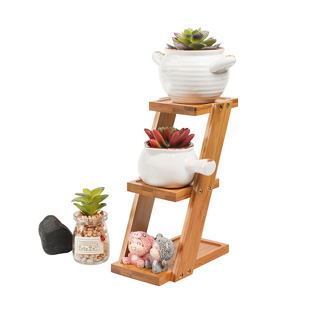 Plant Shelves Flower Display Stand Bamboo Display Stand Wood Shelf Storage Rack Outdoor Holder Flower Garden Rack StandPlant Shelves Flower Display Stand Bamboo Display Stand Wood Shelf Storage Rack Outdoor Holder Flower Garden Rack Stand