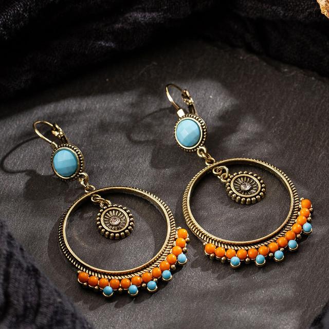 Chic Ethnic Style Dangle Earrings