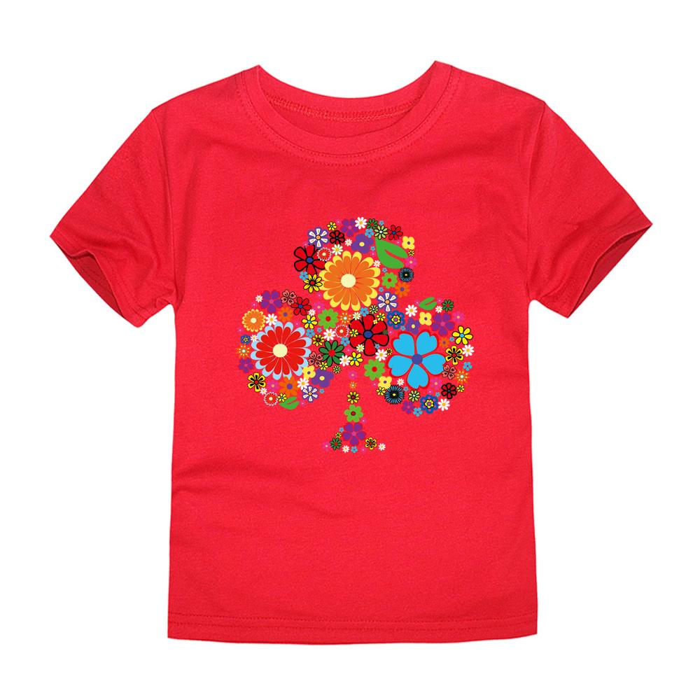 HTB1Nu7bRFXXXXcqXpXXq6xXFXXX2 - TINOLULING 2018 Summer Kids Flower Tree T-Shirt Boys Girls Tree T Shirt Children Tops Baby Tees For 2-14 Years