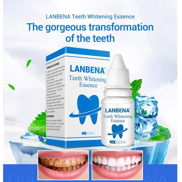Lanbena Kebersihan Mulut Membersihkan Serum Noda Gigi Pemutihan Gigi
