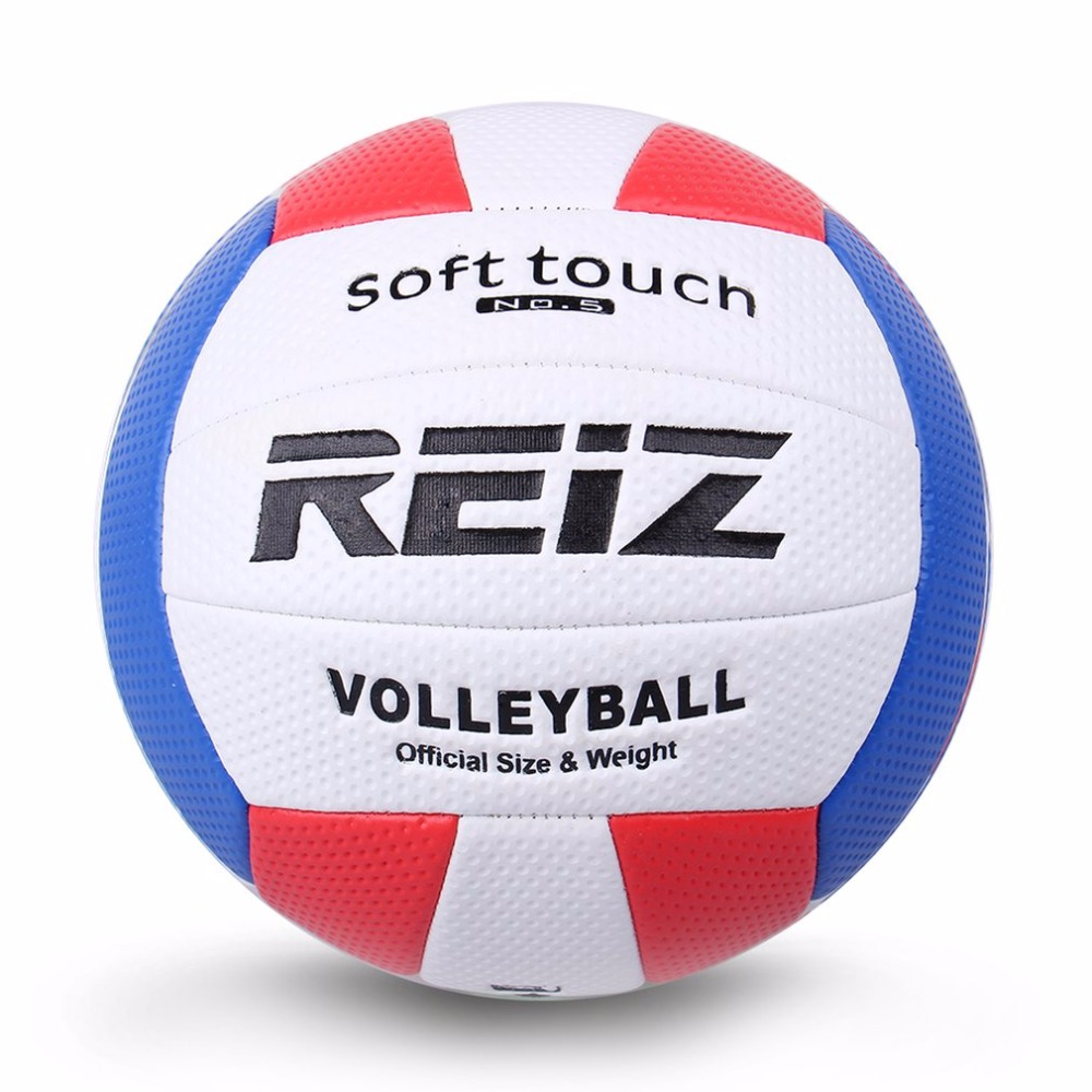 Soft Touch PU Leather 5# Volleyball Ball Outdoor Indoor Training Competition Standard Volleyball Ball For Students Hot