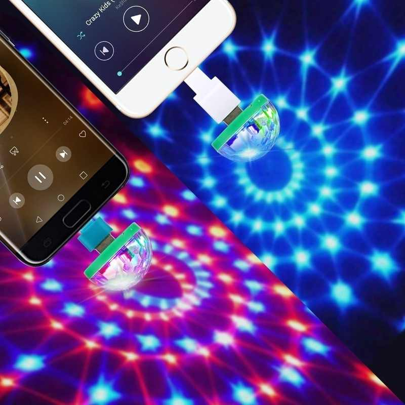 Detail Feedback Questions About Hoomall Hot Mini Disco Light Portable Home Party Dc 5v Ball Christmas Led On Aliexpress