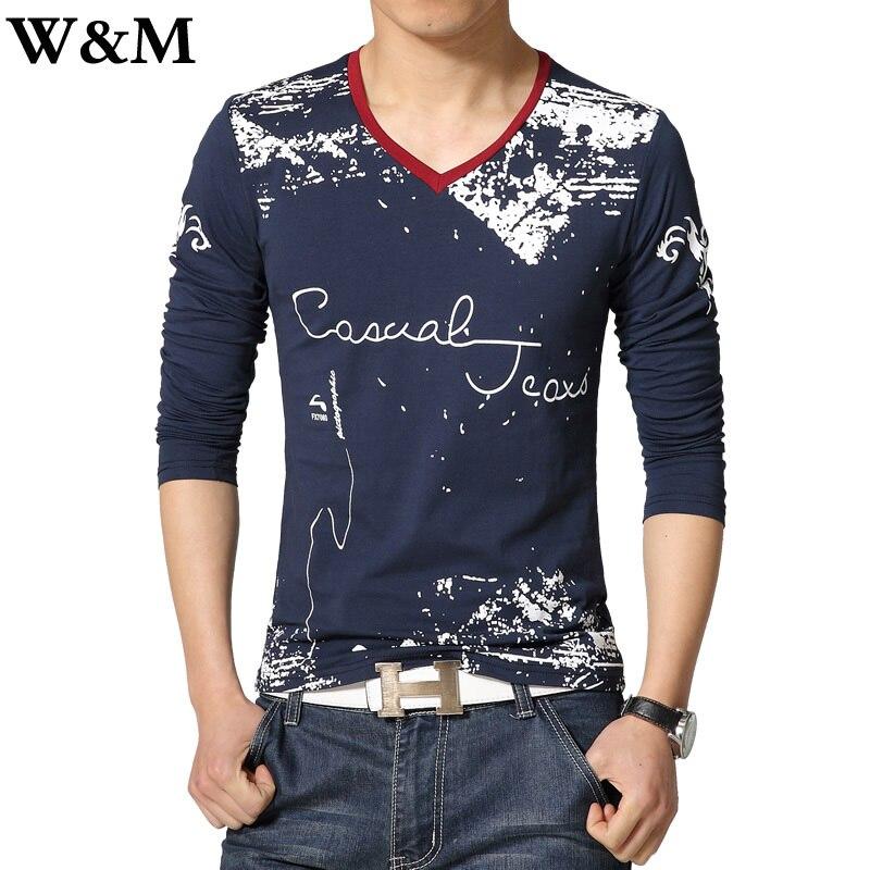 Aliexpress.com : Buy [W&M]Plus Size 5XL Cotton Printed t shirt Men ...