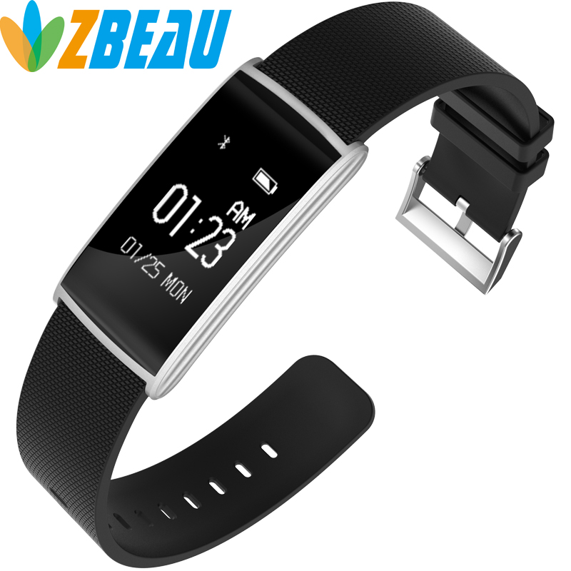 Smart Band N108 HR Bluetooth Wristband Heart Rate Monitor Fitness Tracker Pedometer Bracelet For iPhone xiaomi
