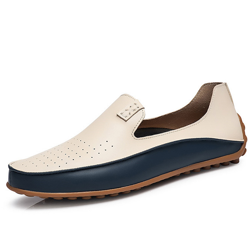 Big Size Fashion Loafers Men Shoes Casual Leather Comfortable Flats Driving Shoes Male Soft Moccasins Breathable Light Plus S  men luxury brand new genuine leather shoes fashion big size 39 47 male breathable soft driving loafer flats z768 tenis masculino