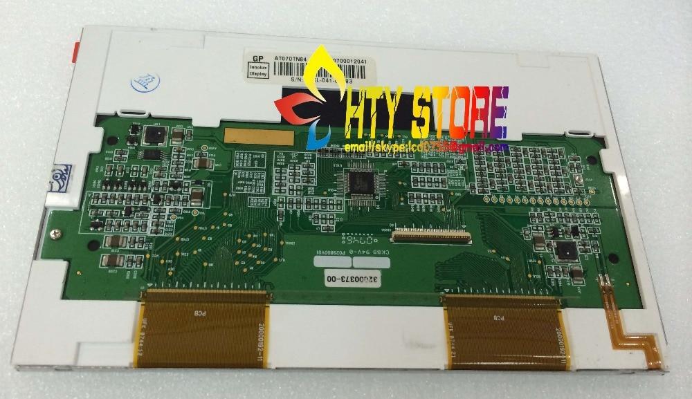 Original 7inch LCD screen AT070TN84 V.1 AT070TN84 V1 for Tablet PC  CAR GPS DVD 800*480 resolution free shipping