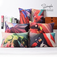 Spiderman pillow cover, iron man Superman batman Hulk Captain America waist pillow case pillowcase Wholesale