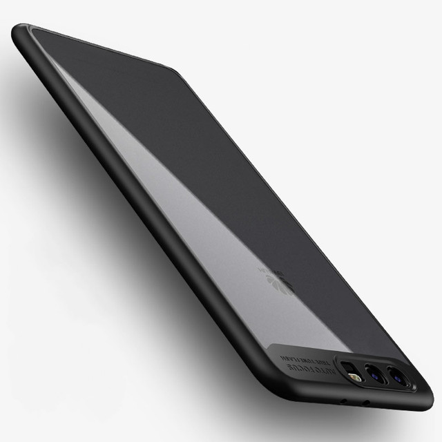 Case for HUAWEI P10 P10 Plus original case luxury Ultra thin silicone TPU+Acrylic protective shell back cover case