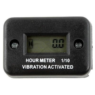 купить Motorcycle New Tach Vibration Activated Hour Meter For ATV Snowmobile Gas Engine по цене 646.66 рублей