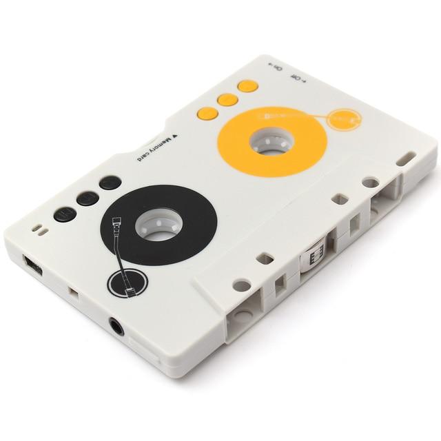 2016 Nuevo Retro Cinta Telecontrol Del Coche Adaptador de Casete de Audio SD MMC Reproductor de MP3 Kit + Remote