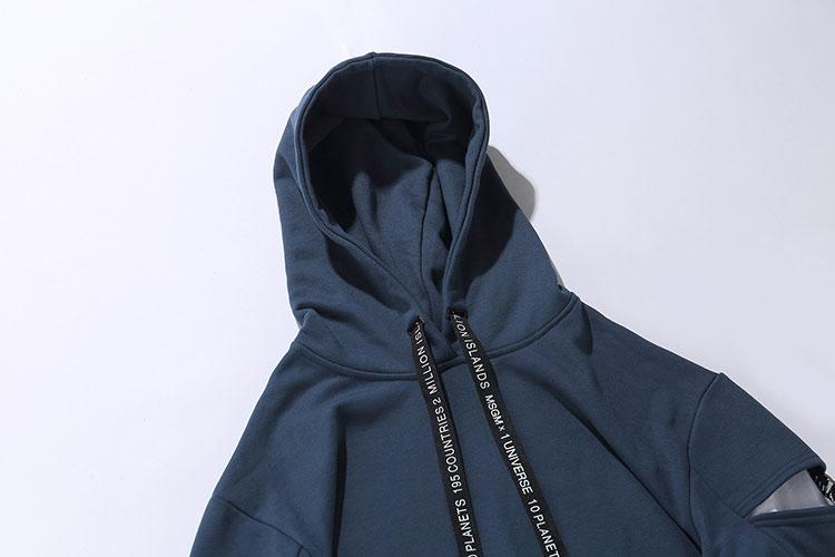 Sleeve Ribbon Hoodies 6