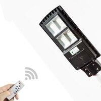 40W/80W/100W Solar integrated street light home induction radar time control light control wall lamp street light super bright