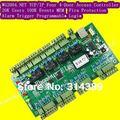 Tcp IP WG2004.NET quatro 4 porta controlador de acesso 20 K usuários 100 K eventos MEM Fire Protection e alarme lógica de disparo programável
