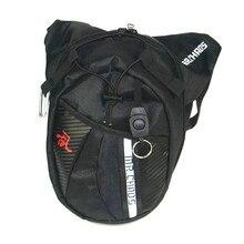 Black Motorcycle Package Knight Waist Bag Multifunctional Backpack Motorcycle Bag Drop Leg Bag Moto Accessories