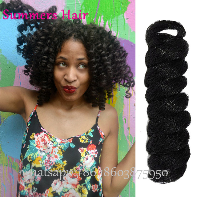2017 New Synthetic Freetress Braiding Hair Small Wand Curls Crochet