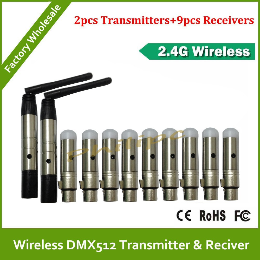DHL  Free Shipping Good quality dmx wireless controller transmitter receiver dmx 512 wireless dmx used good condition vx4a66105 with free dhl