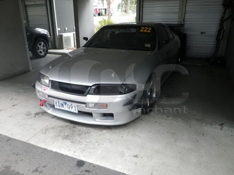 1995-1998 Nissan Skyline R33 GTR GTS LHS Headlight Air Intake Vents Replacement CF (8)