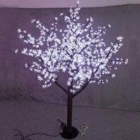 Бесплатная доставка LED Рождество Свадебная вечеринка свет праздника Cherry Tree 5ft 1.5 м высота Водонепроницаемый 480 шт. светодиодов белый на откры
