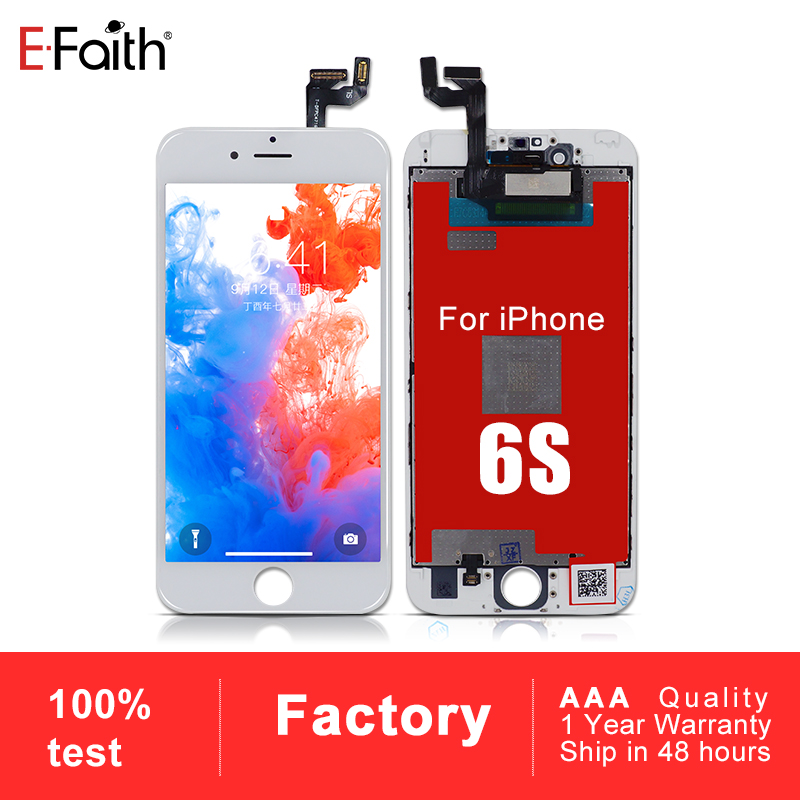 EFaith 10PCS AAA LCD or Display or Screen For iPhone 6S Touch Screen Digitizer Replacement Assembly