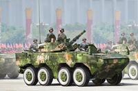 Trompetçi monte Tankı Modeli 82486 Çin ZBL-09 Piyade savaş Araçları