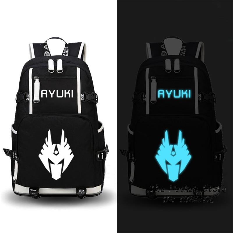 High Quality Masked Rider/Kamen Rider Decade Wizard Blade Kuuga Backpack Canvas Printing Backpack Men Travel Laptop Backpack