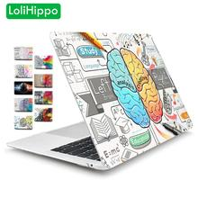 LoliHippo Idea Series Laptop Hard Case for Apple Macbook New Air Pro 11 12 13.3 15.4 Inch Notebook Replace Cover for A1534 A1932