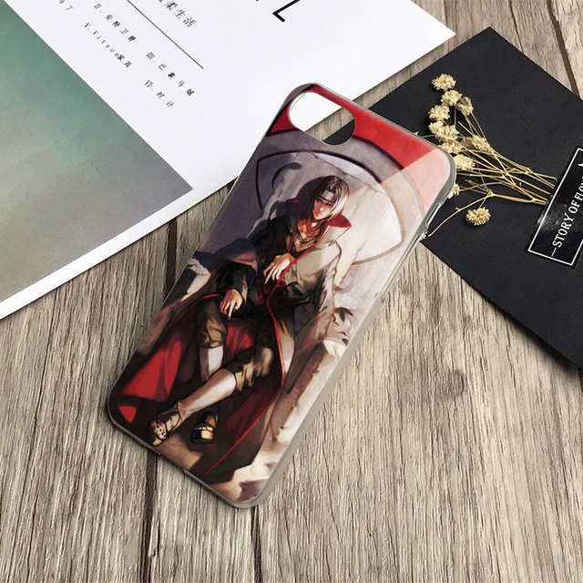 Naruto Itachi Uchiha Phone Case Cover Shell For iPhone
