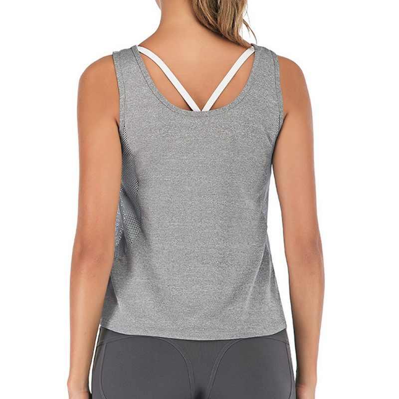 Sfit المرأة شبكة تنفس بلوزة طويلة لليوغا أكمام قمصان للجري الرياضة تجريب سترة رياضية أكتيفيوير سترات فضفاضة اليوغا الحلو