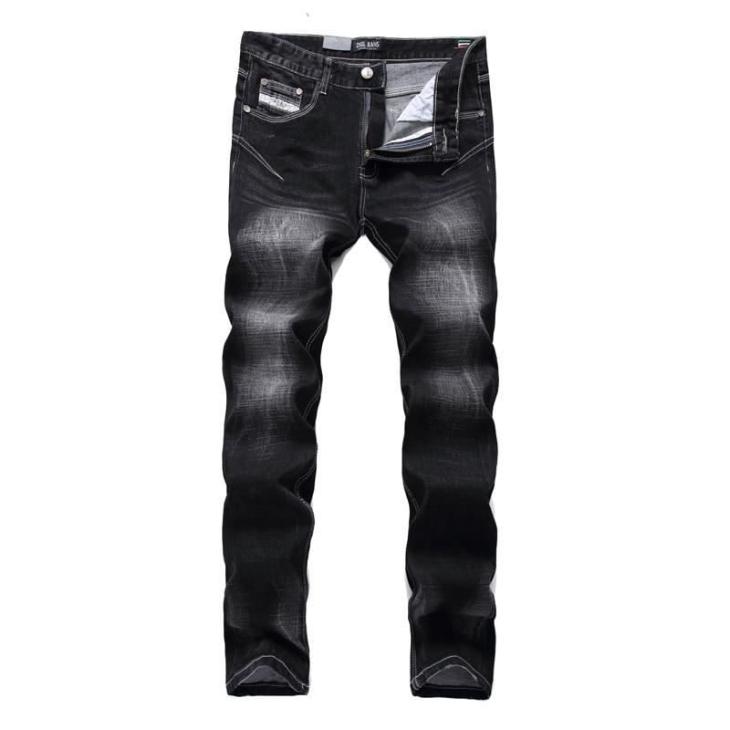 Free Shipping High Quality Fashion Brand Dsel Designer Biker Jeans Men Straight Zippers Slim Skinny Ripped
