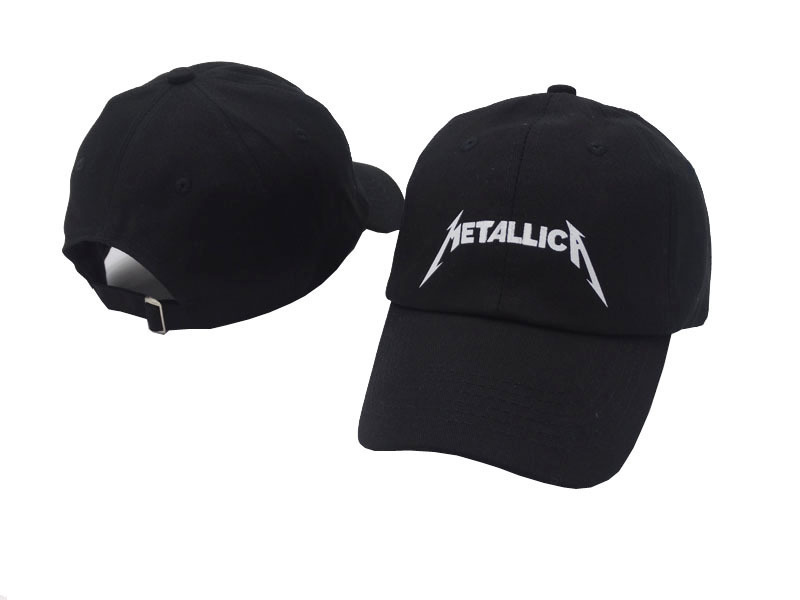 CDF 2019 Fashion Hip Hop   Baseball     Cap   Embroidery Letter Metallica Sun Dad Hat for Men Women Streetwear Outdoor Rock Band Gorras