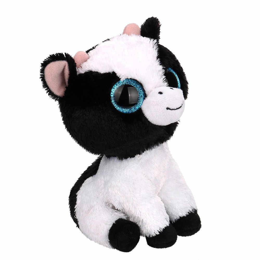 Olhos grandes Animais De Pelúcia Bebês Boneca de Brinquedo de Pelúcia Macia