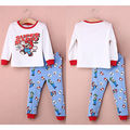2pcs Super Mario Kids Baby Boy Girls Sleepwear Nightwear Outfits Pajama Set 2-7Y Children Pajama Sets