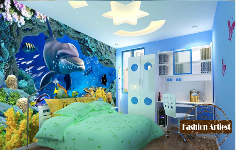 aquarium bedroom for kids images