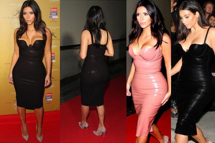 Pink Gold Black Summer Style Aliexpress Uk Hl Dresses Celebrity Same