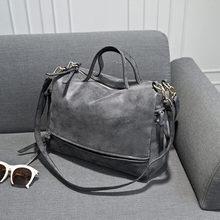 2014 new arrive  women's shoulder bag  nubuck leather vintage messenger bag motorcycle shoulder bags  women's bag