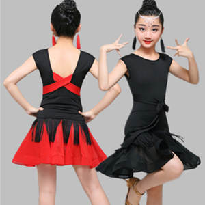 d8b99db16 IDEASKY latin dance girls ballroom dancing dresses costumes