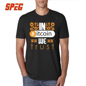 T-Shirt In Bitcoin We Trust