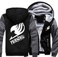 США размер Мужчины Женщины Аниме Fairy Tail Косплей Куртка Кофты Сгущает Толстовка Пальто
