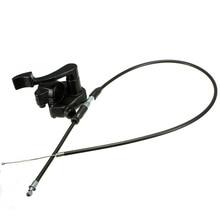 1PC 블랙 78cm 엄지 스로틀 가속기 케이블 미니 모토/4 스트로크 쿼드 ATV 구덩이 자전거 50 150cc 110cc