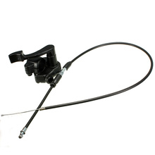 Черный кабель акселератора дроссельной заслонки 78 см, 1 шт. для мини мотоцикла/4 тактного квадроцикла, питбайка 50 150cc 110cc