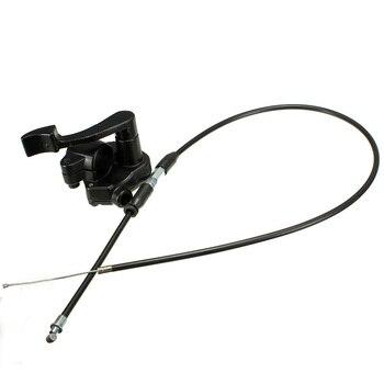 Cable acelerador para Mini Moto 4 tiempos, negro, 78cm, Quad, ATV, Pit Bike, 50-150cc, 110cc, 1 ud.