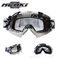 High quality Professional Racing Off Road Motocross Goggles Glasses Nenki Motorcycle Dirt Bike Clear Lenses 1019