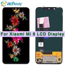 Amoled Экран Xiaomi Mi 8 ЖК-дисплей Mi 8 Explorer Дисплей планшета Ассамблеи Сенсорный экран 6,21 «Xiaomi Mi 8 ЖК-дисплей