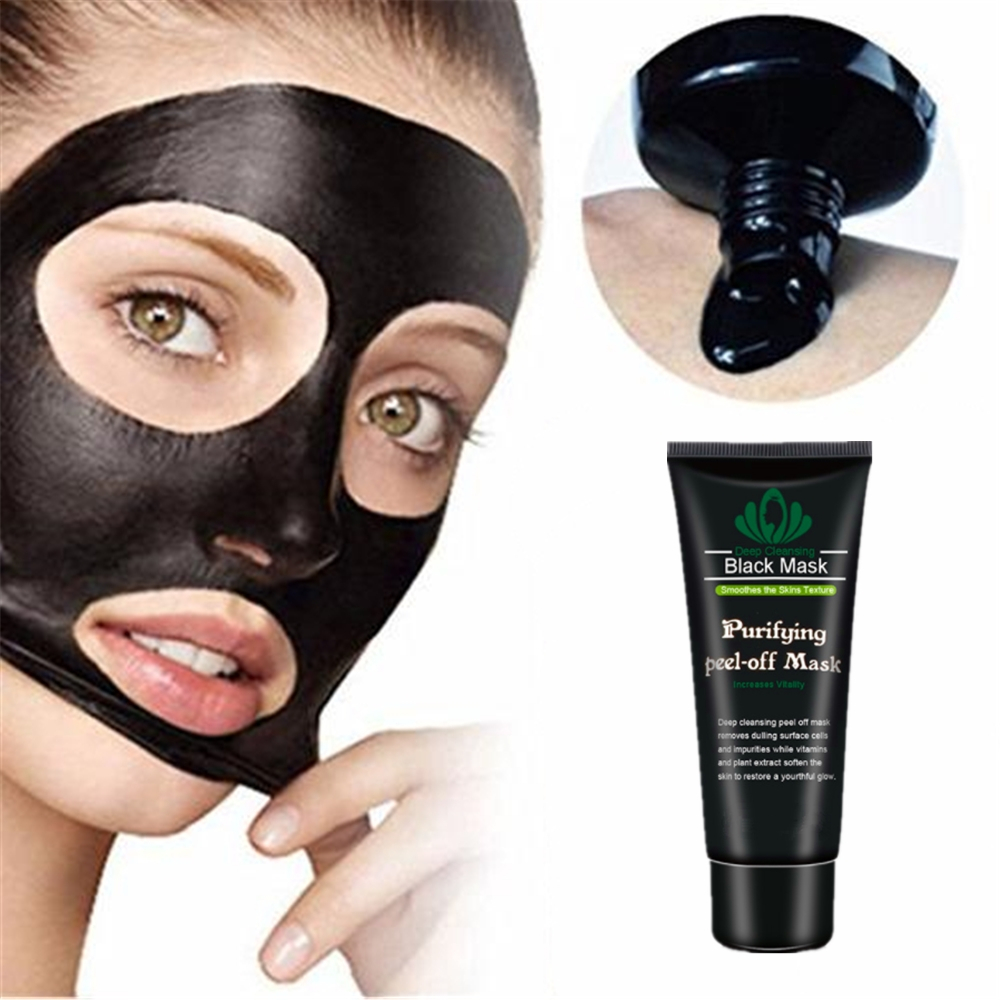 DISAAR Face Black Dots Mask Blackhead Cleaning Cream Shrink Pores Removing Black Head Remover Face Mask Mineral Mud Skin Care