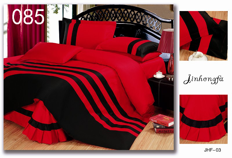 couette rouge et grise awesome housse de couette rversible grisrouge xcm taies coton fils with. Black Bedroom Furniture Sets. Home Design Ideas